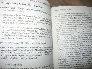 Past, Present, Parallel -- a Survey of Available Parallel Computing Systems (1980's computers and manufacturers)