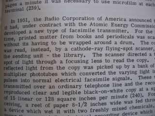 Reading Devices for Micro-Images; volume 5 part 2 of The State of the Library Art 1960