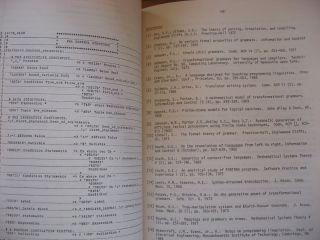 Compiler Construction, an advanced course, second edition; Lecture notes in computer science volume 21