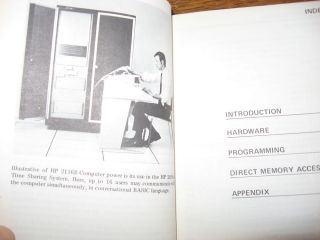 A Pocket Guide to Interfacing HP Computers, 1969