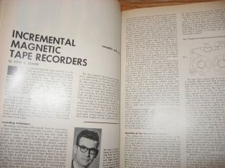 Datamation magazine 3 issues 1966, August, September, November, incl. article on Zuse computer