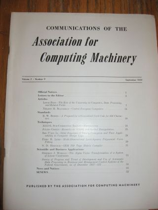 PAPAC-00, A Do-It-Yourself Paper Computer, in, Communications of the ACM, September 1959. Rollin Mayer.