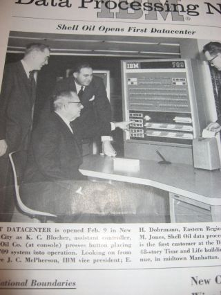 IBM Data Processing News -- 16 individual issues, var. from February 1960 through December 1960
