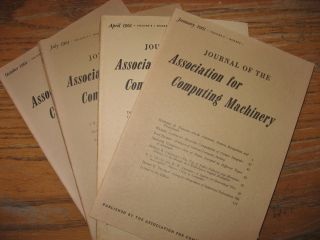 1961 four issues (4) complete year, four individual issues volume 8, numbers 1 through 4; January...