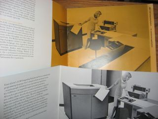 2 brochures for IBM 1130, one for the Computing System and one for IBM 1130 RPG commercial programming language