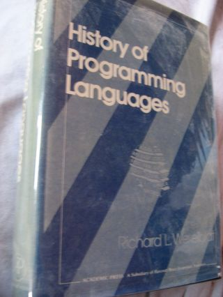 History of Programming Languages. Richard Wexelblat.