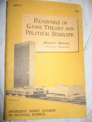 Readings in Game Theory and Political Behavior. Martin Shubik.