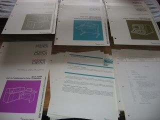 Univac OEM Technical Data Bulletins (see list) 12 technical bulletins; 5 information bulletins;...
