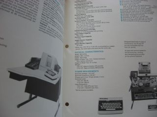 Univac OEM Technical Data Bulletins (see list) 12 technical bulletins; 5 information bulletins; reference manual; 2 typed general descriptions of items (see list)