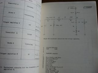 Electronic Circuit Analysis Program for the UNIVAC 1107