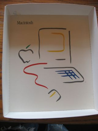 MacTerminal 1984 manuals and one diskette, in box