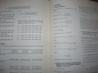 Control Data 6600 Computer System Programming System/Library Functions, a study of mathematical approximations, first edition 1964