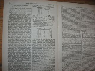 Babbage's Calculating Engine, in, Saturday Magazine, No. 552 -- February 6, 1841. Charles...