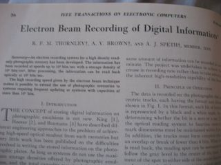 IEEE Transactions on Electronic Computers, February 1964, Volume EC-13 Number 1 February 1964, IRE/IEEE