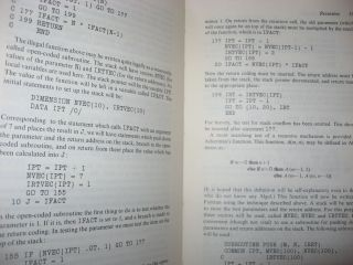 Fortran Techniques -- with special reference to non-numerical applications