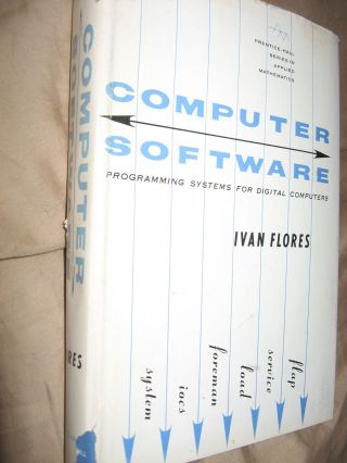 Computer Software -- programming systems for digital computers 1965, assemblers, subroutines etc. Ivan Flores.