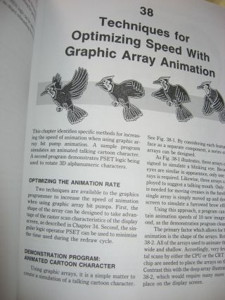 High Speed Animation & Simulation For Microcomputers, for IBM PC, XT, AT and PCjr, plus the Apple II series (NO DISKETTES)