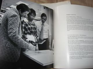 The RTL System -- sales brochures, Honeywell 1973, with laid-in inter-office correspondence