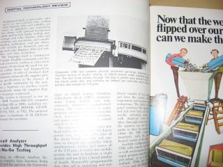 Computer Design magazine, the magazine of digital electronics, August 1973, complete separate issue