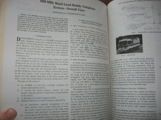Land-Mobile Communications Engineering, anthology of papers
