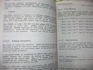 3 volumes - An Implementation of the MSG Interprocess Communication Protocol, final technical report, 1982-1983; Implementation of NSW Server Processes for IBM MVS; Installation of GIM-II as a VTAM Application Program under MVS