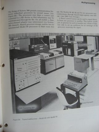 7 Manuals, IBM Student Text -- System/360 1965, see list below