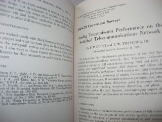 The Bell System Technical Journal, volume 50 no. 4, April 1971