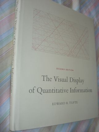 The Visual Display of Quantitative Information, second edition. Edward Tufte