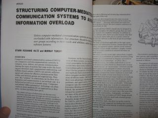Communications of the ACM 1985, 11 individual issues (missing October) volume 28