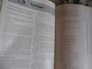 Communications of the ACM, 1964, 10 individual issues; volume 7 numbers 1-10 inclusive